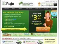 美國iPage虛擬主機官網